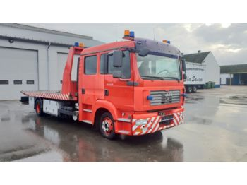 Tow truck MAN TGL 12.210 / 6 SEATS/ 2007 year